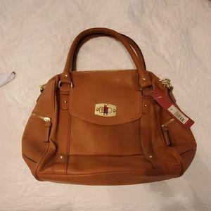 New, brown purse by Merona
